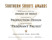 Pregnant Pauses-Drama-Production Design